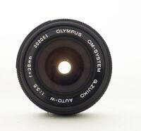 Olympus OM 28mm F3.5 Lens