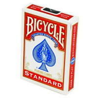 Bicycle Standard Index Playing Cards - 1 SEALED DECK (Red) - New