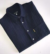 "Mens ARMANI Short Sleeve Stretch Vintage Shirt Size XL Chest 46"""