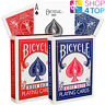 Bicycle Rider 808 Retro Caja Estándar Índice Playing Cards Magia Trucos Red Blue