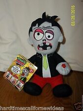 """Zombie Talksterz Talking Repeating Plush Dragon Itoys 8"""" With Tag"""