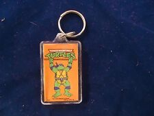 Teenage Mutant Ninja Turtles Classic Cartoon Donatello Keychain TMNT 1980s Don
