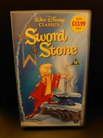 The Sword In The Stone VHS Video Tape - Disney Classic
