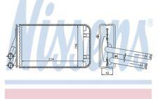 NISSENS Radiador de calefacción Para VW PASSAT 70229