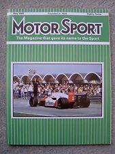 Motor Sport (May 1985) MG Montego Turbo, TVR 390SE, Honda CRX & Civic GT, XR4X4
