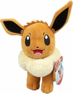 Pokemon 20cm Eevee Plush Toy Brand New With Tags Genuine Wicked Cool Toys