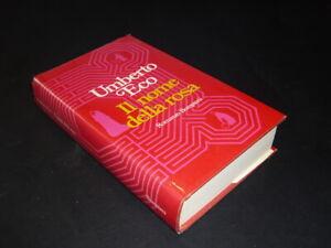 Umberto Eco, Il Nome della Rosa, 1° edizione Bompiani 1980