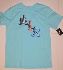 "New Mens Nike Jordan ""AIR"" Graphic T-SHIRT sz XL Extra Large Copa Blue"