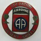 Operation DESERT SHIELD Airborne Hat Pin AA Military Lapel