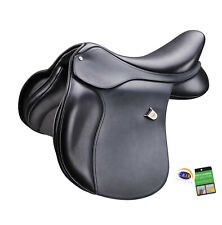 Bates High Wither All Purpose Square Cantle Heritage GP Saddle CAIR Black/Brown