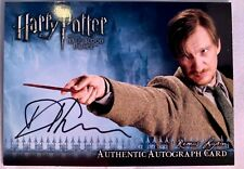 Artbox - Harry Potter and the Half-Blood Prince Autograph Card - Professor Lupin