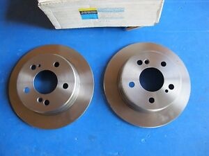 Discs Brake Rear JURID For Mercedes 190, 200, 220, 230, 250, 260