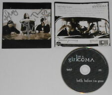 Girl In a Coma - Both Before I'm Gone - autographed U.S cd