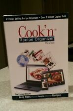 *NEW*COOK'N RECIPE ORGANIZER PC DVD CUSTOM TRACK INTERNET COOKING PLANS COOKBOOK