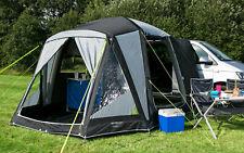 Berger Liberta-L Busvorzelt Camping Ganzvorzelt Tunnelzelt Vorzelt B*Ware grau