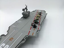 US Aircraft Carrier Model Toy Game Ship Display Warship Battleship Navy