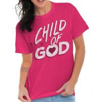 Child Of God Religious Christian Strong Jesus TShirts T Shirts Tees For Womens