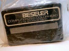 Beseler Computerized 45s 4X5 Colorhead card data storage lot of 20 pcs