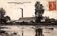 CPA  Lamotte-Beuvron(L.-et-C.) - Le bassin du Canal et la Scierie Brunet(208682)
