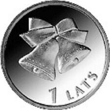 Latvia / Lettland - 1 lat Christmas bells
