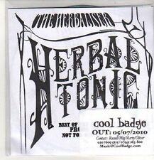 (CO208) The Herbaliser, Herbal Tonic Sampler 2010 - DJ CD