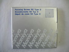 """BRAND NEW"" Mamiya RZ67 + Cross Focusing Screen Type D ""NEW"" 212-425 / all"
