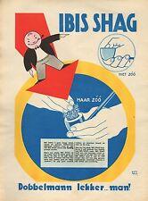 RECLAME VOOR IBIS SHAG 08 - KEES MEYS/WEEKBLAD PANORAMA 1935