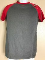 Rawlings Men Size Small Srg Compression T-shirt Short Sleeve Gray