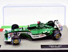 FORMULA 1 UNO F1 SCALA 1/43 MODELLINO AUTO JAGUAR R4 CAR MODEL DIECAST IXO CORSA