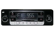 NEW Car Stereo Radio Vintage 70's Style AM FM iPOD & USB Inputs MP3 & CD Player
