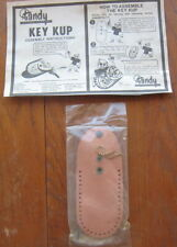 Tandy Leather Key Kup (Case) with Instructions and Photocarve Pattern