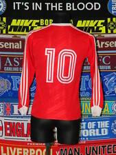 4/5 Norway adults S 1990 #10 retro rare football shirt jersey trikot