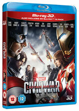 Captain America Civil War Blu-ray 3d 2016