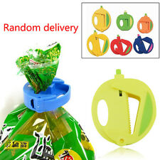 Cute Sealing Bag Clips Storage Food Snack Sealer Clamp Kitchen Tool Plastic