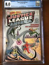 Brave and the Bold #28, 1st Justice League, CGC 8.0 OW/W Pages🔥🔥🔥