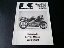 Kawasaki ZX-6 ZZ-R 500 600 ZZ-R600 ZZ-R500 93 Service Manual Reparaturanleitung