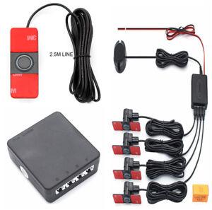 1xProfessional Car Parking Sensor Buzzer 4 Sensors 13mm Parktronic Original Flat