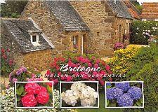 B53030 Breatgne la maison aux hortensias multi vues france