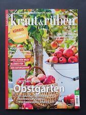 Kraut & Rüben 10/2018  Biologisch gärtnern - Natürlich leben   ungelesen, 1A TOP