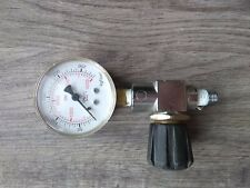 Scuba Compresores Pressure gauge