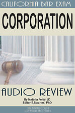 CORPORATION LAW, Summary Audio Review