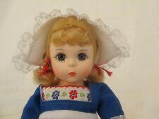 Vintage Madame Alexander doll Netherlands 591 w/ Ob