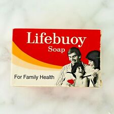 Lifebouy Vintage Bar Soap in Box Unilever Made in England Collectible RARE HTF