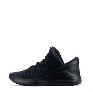Jordan Flight Luxe Men's Lightweight Lace up Style Trainers Shoes in Black