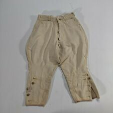 VTG 1920's Tom Sawyer Beige Jodhpurs Style Pants Washwear Boy's sz 8 sanforized