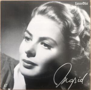 Ingrid Laserdisc Ingrid Bergman Filmography