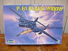 Revell P-61 Black Widow Aircraft Plane Model Kit Skill 2 1/:48 Scale #85-7546