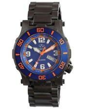 Reactor Atlas Midsized Dive Watch - Blue &  Orange, Black Tactical Finish New