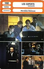 Fiche Cinéma. Movie Card. Les experts/Sneakers (USA) 1992 Phil Alden Robinson