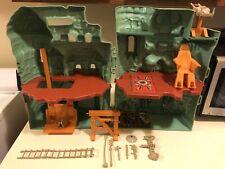 MOTU 1981 Vintage Castle Grayskull He-Man Playset For Parts or Repair